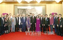 Chủ tịch nước tiếp nhân sĩ, cán bộ, chuyên gia Trung Quốc
