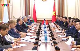 Chủ tịch nước đánh giá cao hợp tác giữa Quốc hội hai nước Việt Nam - Belarus