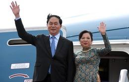 Chủ tịch nước Trần Đại Quang và phu nhân thăm cấp Nhà nước Trung Quốc
