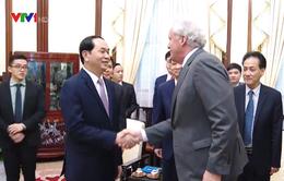 Chủ tịch nước hoan nghênh Tập đoàn GE tăng cường đầu tư tại Việt Nam