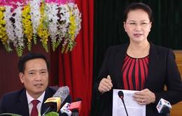 Chủ tịch Quốc hội: Huyện Nậm Nhùn cần quan tâm đến giữ rừng và phát triển rừng