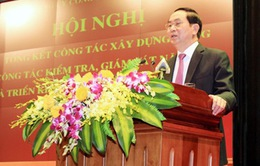 Chủ tịch nước: Gắn xây dựng Đảng với công tác xây dựng lực lượng Công an trong sạch, vững mạnh