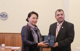 Chủ tịch Quốc hội gặp Chủ tịch IPU Saber Chowdhury