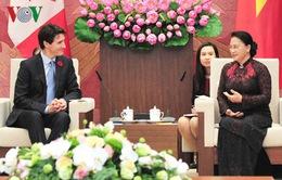 Quốc hội Việt Nam luôn ủng hộ việc tăng cường quan hệ hợp tác nhiều mặt với Canada