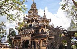 """Vẻ đẹp """"có một không hai"""" của chùa Linh Phước, Lâm Đồng"""
