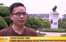 Du học sinh Việt Nam tại Hàn Quốc chúc mừng ngày Nhà giáo Việt Nam