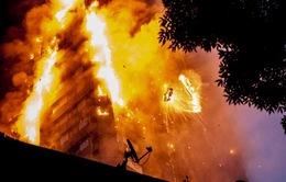 Khó có cơ hội tìm được người sống đang mắc kẹt trong vụ hỏa hoạn tại Anh