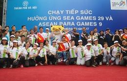 Chương trình chạy tiếp sức hưởng ứng SEA Games 29 và Para Games 9 tại Việt Nam