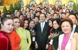 """Chủ tịch nước: Xây dựng thương hiệu """"Made in Việt Nam"""" trên trường quốc tế"""