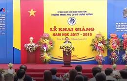 Chủ tịch nước dự Lễ khai giảng năm học mới