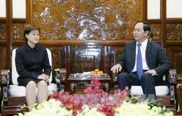 Chủ tịch nước tiếp Đại sứ Singapore