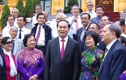 Chủ tịch nước tiếp đoàn cựu cán bộ Điệp báo An ninh Sài Gòn - Gia Định