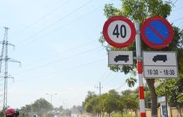 Hạn chế tốc độ 40 km/h đối với ô tô tải trên Quốc lộ 14B