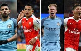 Lịch thi đấu, BXH vòng 11 Ngoại hạng Anh: Tâm điểm Man City – Arsenal, Chelsea – MU