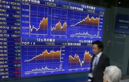 Sắc xanh chi phối hầu hết thị trường chứng khoán châu Á