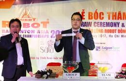 """Công nghệ """"mắt diều hâu"""" sẽ có mặt ở Giải cầu lông đồng đội châu Á 2017 tại Việt Nam"""