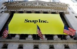 Cổ phiếu Snap lần đầu giảm xuống dưới mức giá IPO