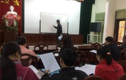 Phát triển ngôn ngữ viết Cơ Tu cho học sinh tiểu học Thừa Thiên - Huế