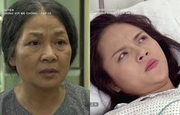 """Sống chung với mẹ chồng - Tập 15: Hả hê chưa được bao lâu vì đuổi khéo mẹ chồng về quê, Trang (Thu Quỳnh) lại suýt bị """"trời phạt"""""""