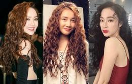 """Sao Việt, người đẹp kẻ xấu với kiểu tóc """"xù mì"""""""