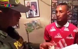 Colombia bắt giữ các đối tượng bắt cóc, tống tiền