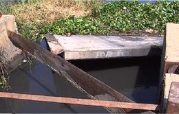 TP.HCM xác định nguyên nhân hỏng nắp cống ngăn triều