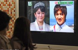 Công chúa Nhật Bản từ bỏ vương vị, đính hôn với thường dân