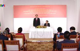 Chủ tịch nước gặp mặt cán bộ, nhân viên ĐSQ Việt Nam tại Belarus