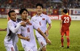 VIDEO: Công Phượng ghi bàn đẹp mắt gỡ hoà cho U23 Việt Nam