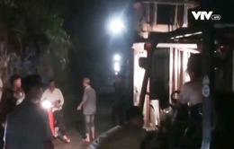 Chưa tìm thấy bé trai bị cuốn trôi vào cống nước ở Đồng Nai