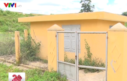 Đăk Lăk: Công trình cấp nước sinh hoạt tiền tỷ bị bỏ hoang