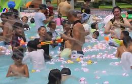 Độc đáo công viên giải trí chủ đề tắm suối nước nóng
