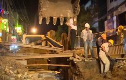 TP.HCM: Gấp rút hoàn thành công trình chống ngập