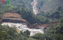 Nghệ An hỗ trợ người dân sau sự cố vỡ đập chứa bùn thải