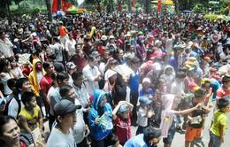 TP. HCM: Hàng trăm ngàn người dân đổ về các khu du lịch trong dịp lễ 2/9