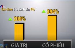 """Cổ phiếu tăng gần 400% khi đổi tên có liên quan tới """"blockchain"""""""