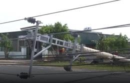 Ngành điện Quảng Bình thiệt hại quá lớn sau bão số 10
