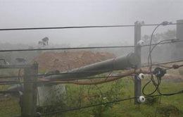 Quảng Trị mất điện diện rộng do bão số 10