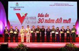 """Trao giải thưởng """"Vinh quang Việt Nam - Dấu ấn 30 năm đổi mới"""""""