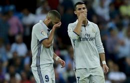 Ronaldo và Benzema bất ngờ trở thành cặp đôi tệ hại nhất châu Âu