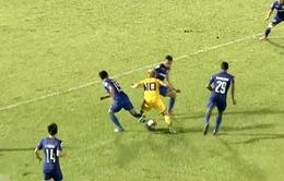 VIDEO giải VĐQG V.League 2017: B. Bình Dương 0-0 SLNA