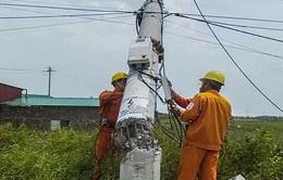 EVN đã cấp điện trở lại cho các địa phương bị ảnh hưởng do bão số 10