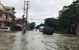 Nghệ An và Hà Tĩnh cho học sinh nghỉ học ngày 10/10 do mưa lụt