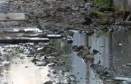 TP.HCM: Nỗi khổ xóm nhỏ 10 năm không có cống thoát nước