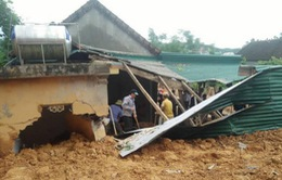 Nghệ An: 6 người chết do mưa lũ, thiệt hại nặng nhà cửa, hoa màu