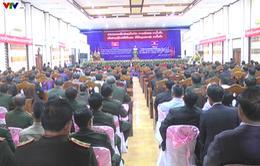 Lễ kỷ niệm 55 năm quan hệ ngoại giao Việt- Lào tại Sê Kông (Lào)