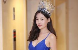 Tân Hoa hậu Đại dương trả lời phỏng vấn VTV về tranh cãi sau đêm chung kết