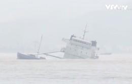 Khẩn trương tìm kiếm 25 thuyền viên mất tích do chìm tàu tại Bình Định