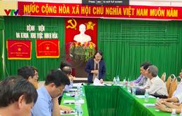 Bộ trưởng Bộ Y tế kiểm tra công tác khắc phục bão tại Khánh Hoà