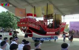 Quảng Nam: Lễ tiếp nhận Châu Ấn thuyền của tỉnh Nagasaki, Nhật Bản